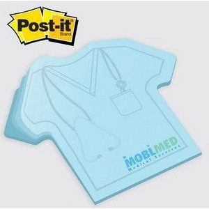 Large Post-it® Custom Printed Notes Shapes - 25 Sheets - 1 Spot Color